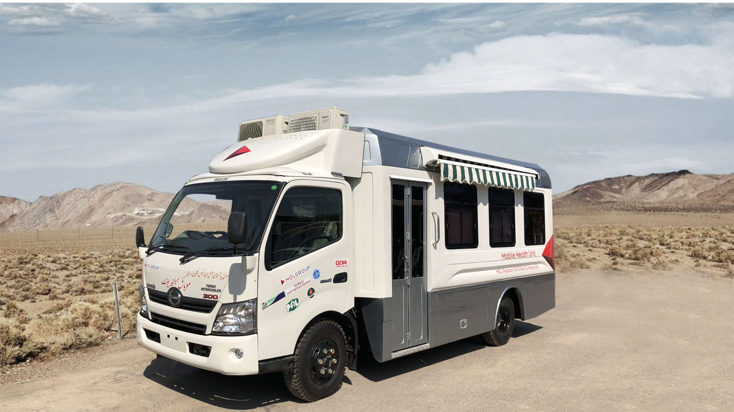 Mobile Health Unit Fabricated on Hino Truck