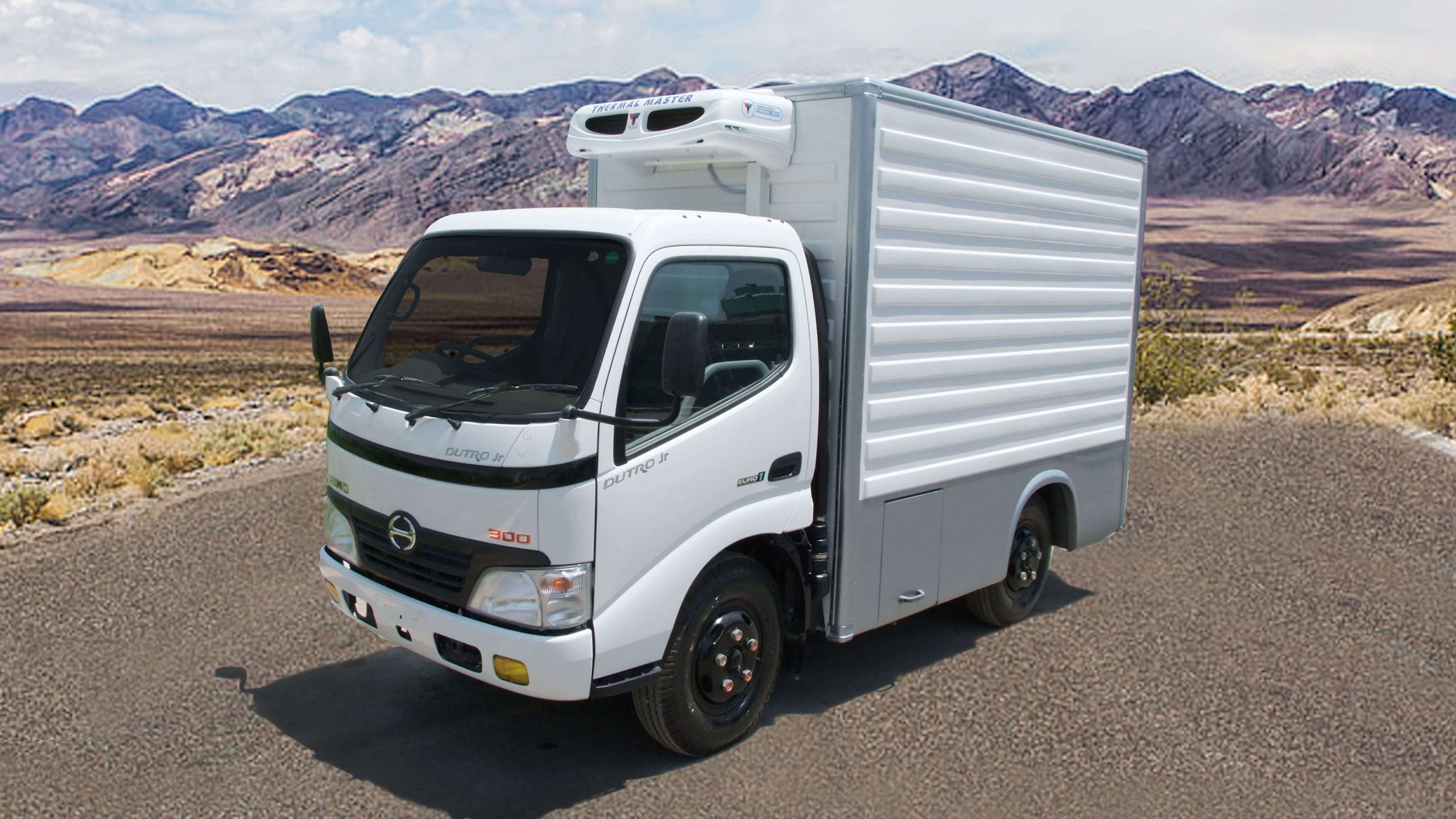 VACCINE CARRIER ON HINO TRUCK